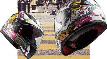 Kinder-Motorradhelme