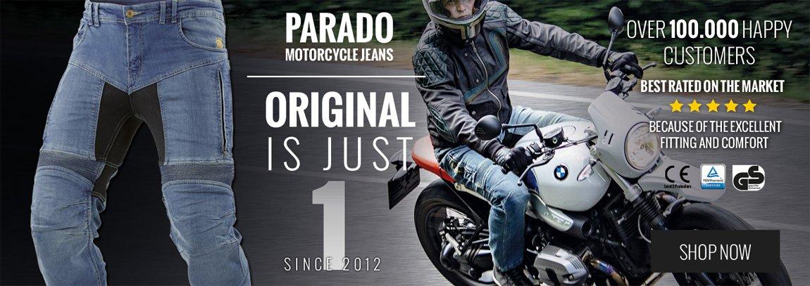 Parado Motorradjeans von Trilobite