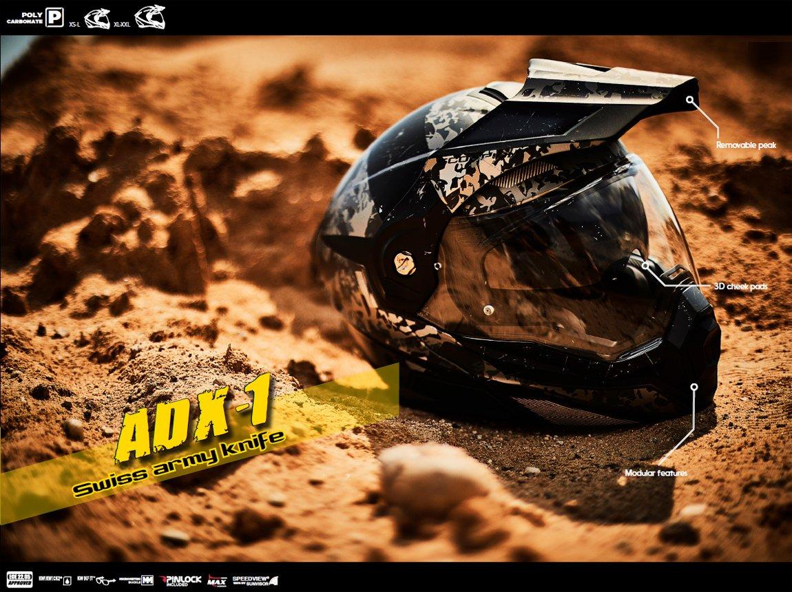 Scorpion ADX-1 Klapphelme