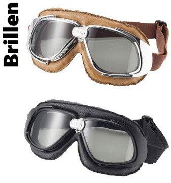 Motorradbrillen und Sturmhauben von Bandit