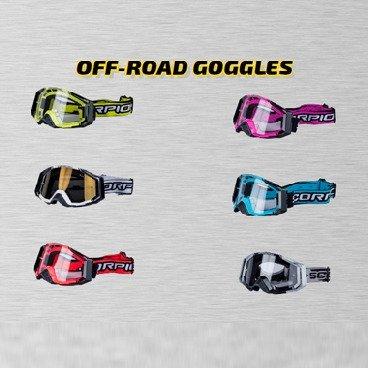 Motorradbrillen von Scorpion