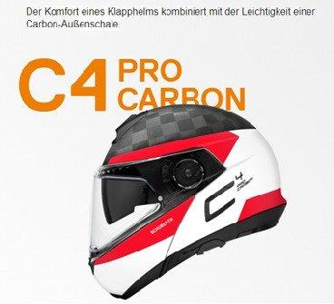 C4 Pro Carbon Klapphelme