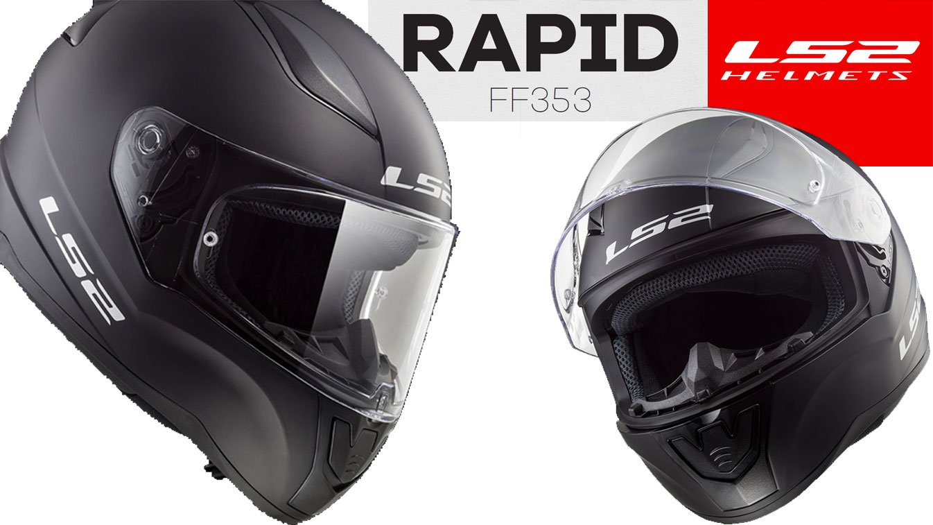 LS2 FF353 Rapid Integralhelme