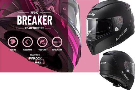 LS2 FF390 Breaker Integralhelme