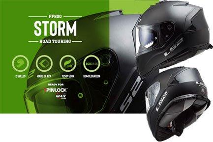 LS2 FF 800 Storm Integralhelme