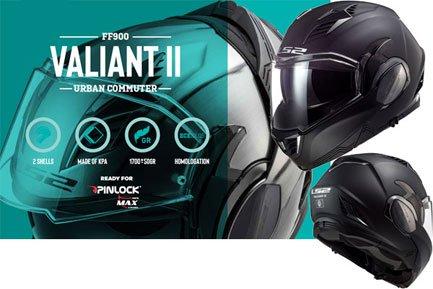 FF900 Valiant II Klapphelme