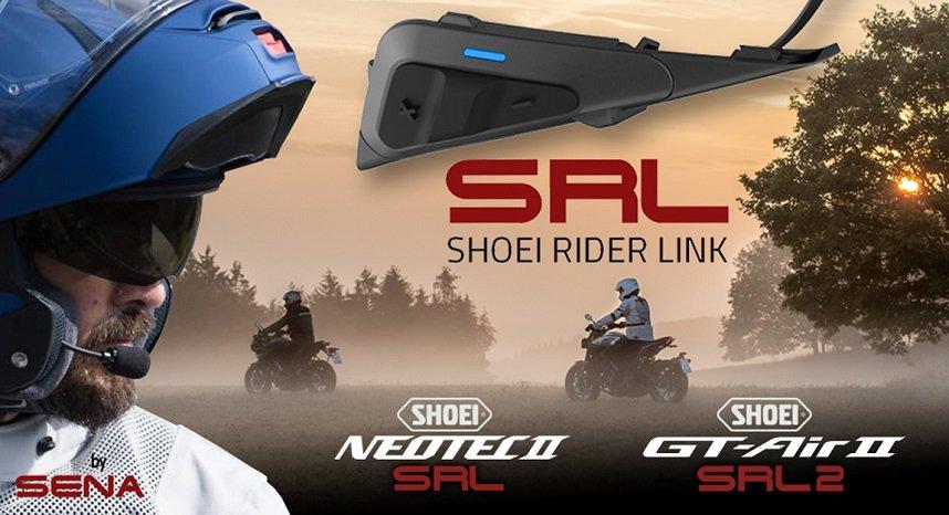 Headsets für Shoei Motorradhelme