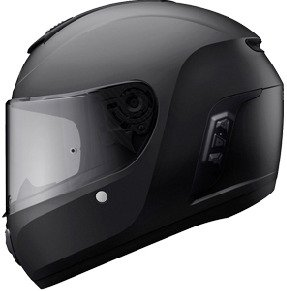 Motorradhelme mit integriertem Headset