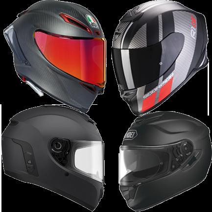 Integralhelme für Motorradfahrer - Optimale Sicherheit mit guter Ausstattung und Aerodynamik