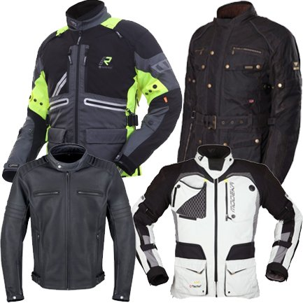 Motorradjacken - stylisch, schützend und mit viel Funktion