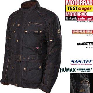 Wachsjacken aus gewachster Baumwolle für den Motorradfahrer