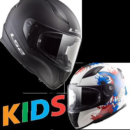 Motorradhelme für Kinder - Sicherheit auf Reisen mit den Kleinen