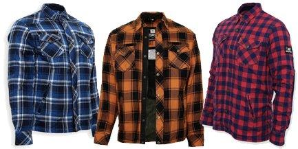 Lumberjack Holzfällerhemden für den Motorradfahrer