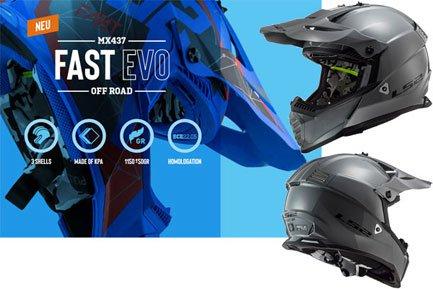 LS2 MX437 Fast Crosshelme