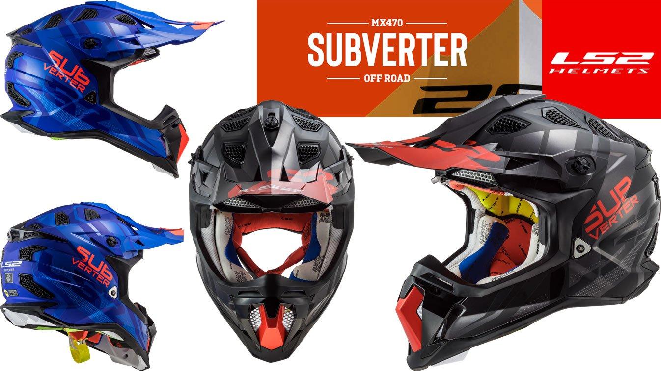 MX470 Subverter Premium-Crosshelme
