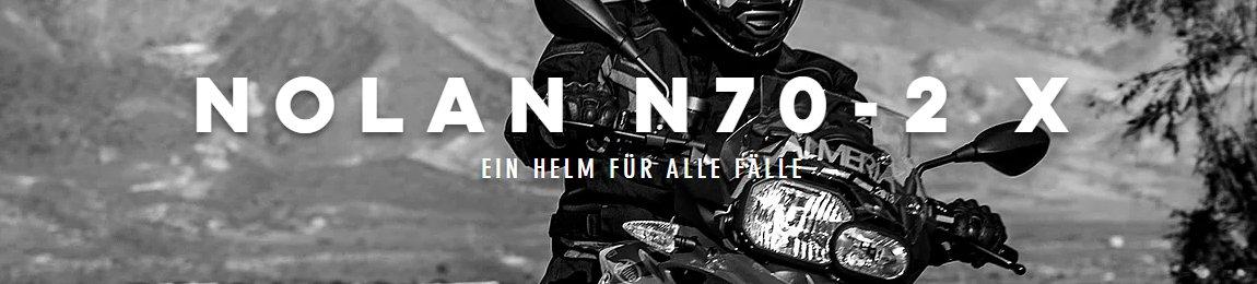 N70-2 X Endurohelme für Tour und Off-Road