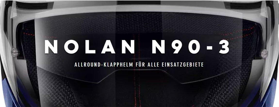 N90-3 Klapphelme - zeitlose Eleganz
