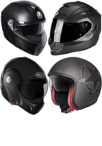 Carbon Motorradhelme - Extrem leicht und ein optisches Highlight im Motorrad Helm Bereich