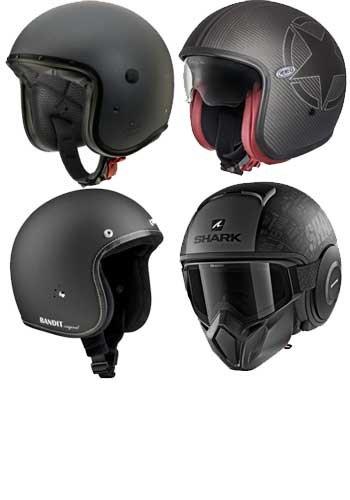 Jethelme - leicht und komfortabel besonders für City Roller und Chopper Fahrer