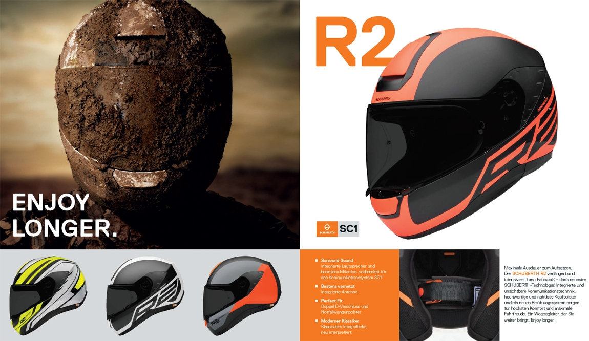 Schuberth R2 Integralhelme