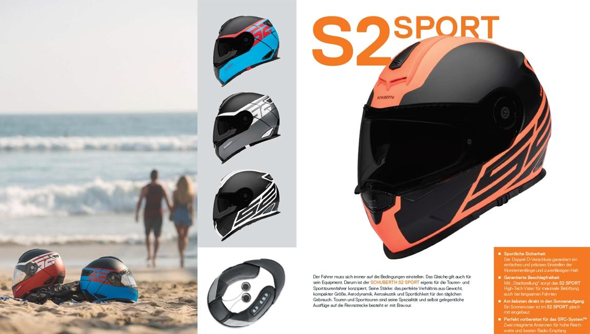 S2 Sport Integralhelme für das Rennfeeling auf der Straße