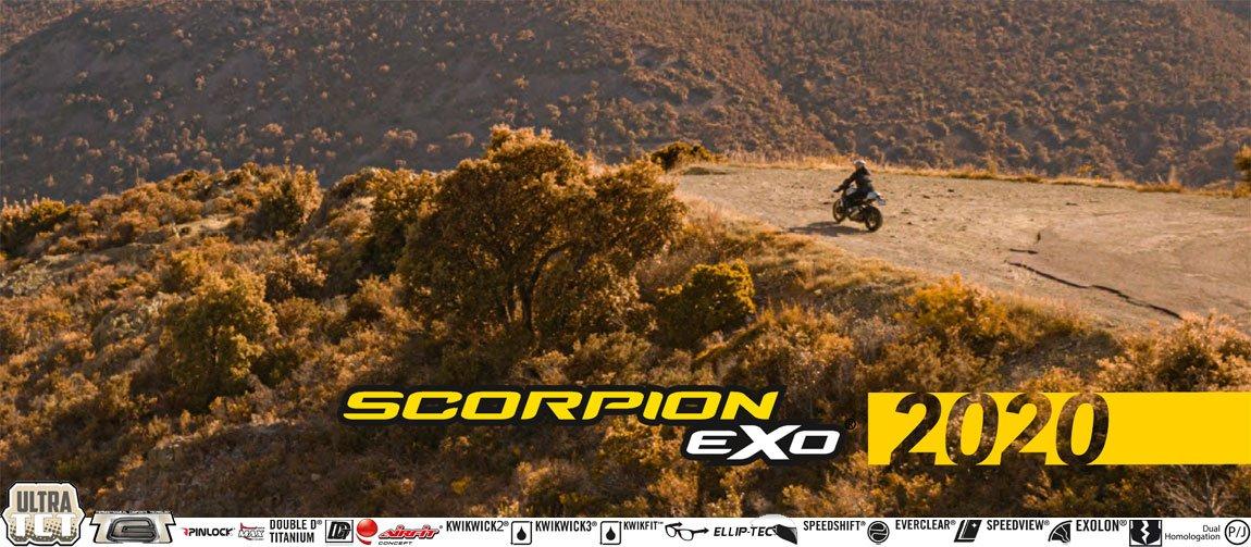 Scorpion EXO Motorradhelme