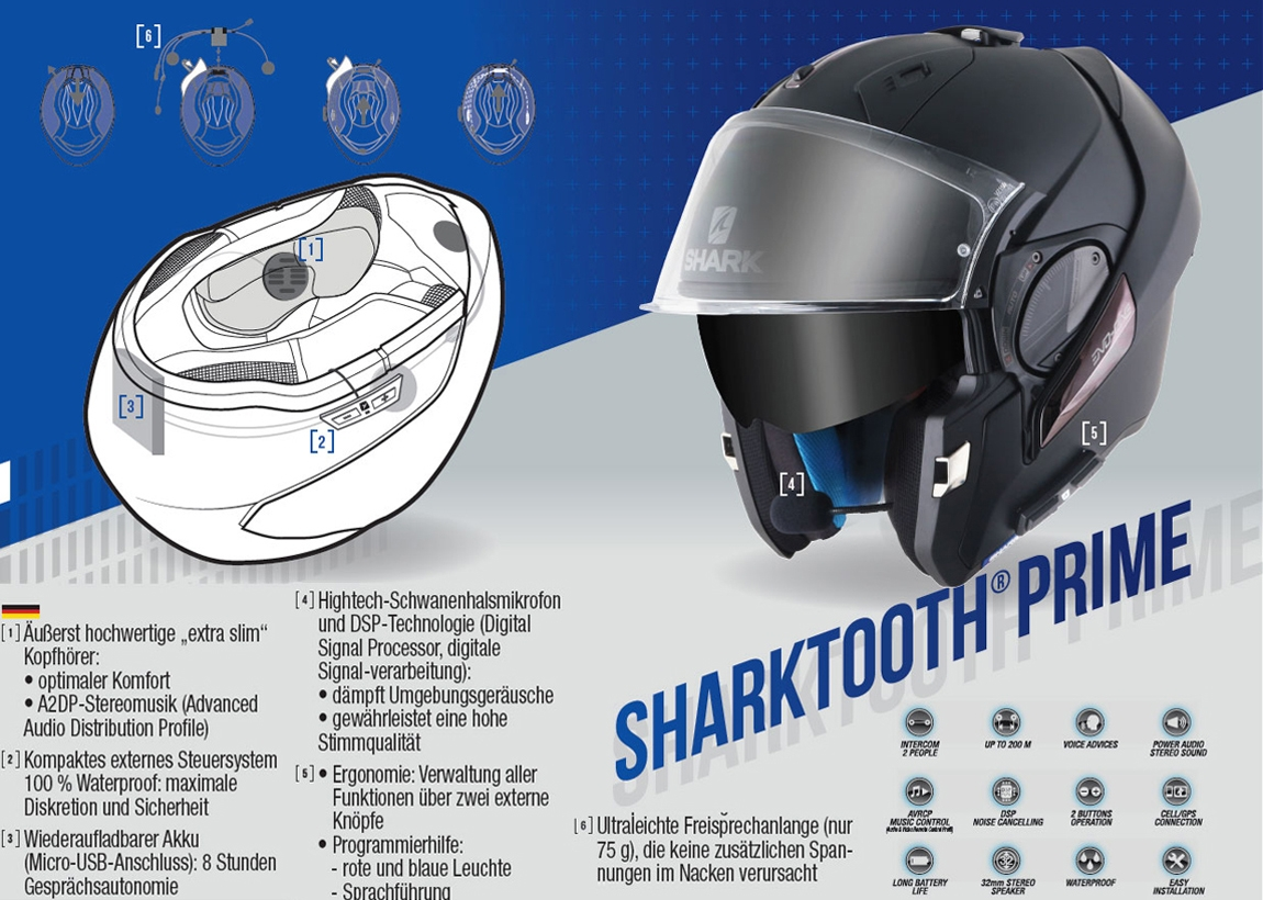 SHARKTOOTH Headset