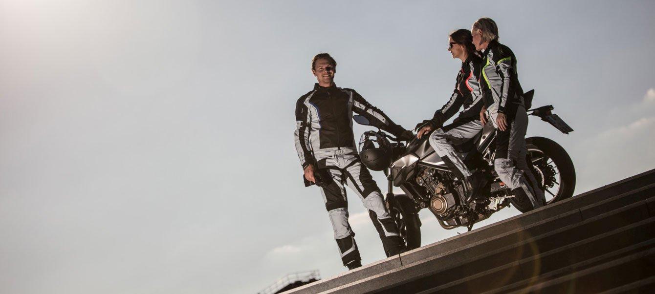 Modeka Sommer Motorradbekleidung für Herren und Damen