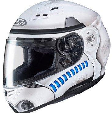 Star Wars Motorradhelm-Dekore von HJC