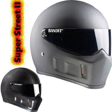 Bandit Super Street 2 Integralhelm ohne ECE