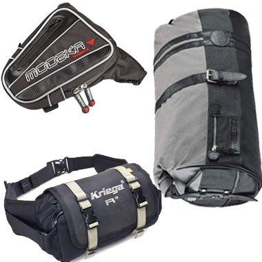 Taschen und Gepäckrollen