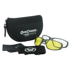 Global Vision Motorradbrille QUICK CHANGE KIT mit mehreren Gläsern