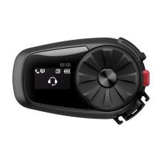 Sena Headset 5S Motorrad Kommunikation Bike-to-Bike Intercom Bluetooth 5 HD-Lautsprecher FM-Radio LCD-Display