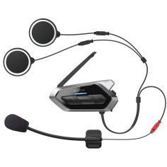 Sena Headset 50R Motorrad Kommunikation ultraflach Mesh 2.0 Universal Intercom Bluetooth 5 HD Google Apple FM-Radio