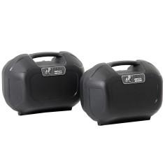 Hepco & Becker Seitenkoffer ORBIT SET 2x22 Liter für C-Bow Halter Motorrad Sidecase wasserdicht 2er-Set