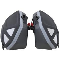 Hepco & Becker Seitenkoffer ROYSTER SET 2 x 22 Liter für C-Bow Halter Motorrad Softtasche Sidecase