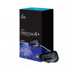 Cardo Headset FREECOM 4+ Einzelset Bike-to-Bike 4-Wege Interkom bis 1,2 km UKW Radio