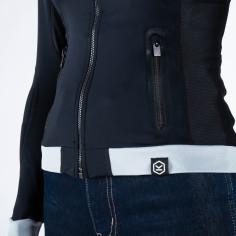 Knox Protektorenshirt ACTION SHIRT LADY für Damen elastisch mit Protektoren