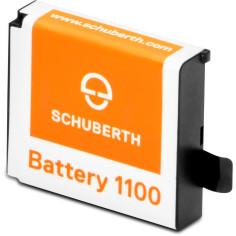 Schuberth Original Ersatz-Akku Li-Ion für SC1 STANDARD und SC1 ADVANCED Headsets powered by Sena
