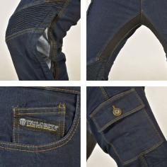 Trilobite Motorrad Jeans SMART DAMEN aus elastischem Denim mit Aramid