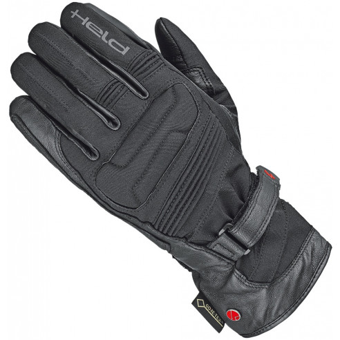 Held Gore-Tex Motorradhandschuhe SATU II 2 + Gore Grip wasserdicht Leder reflektierend mit CE