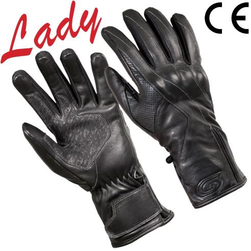 Germot Damen Motorradhandschuhe MISS PRO atmungsaktiv windabweisend mit CE