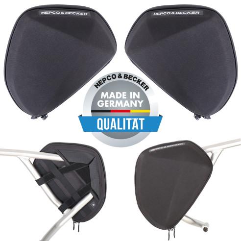 Hepco & Becker Taschen Set V1 für Schutzbügel 3 Liter für zusätzlichen Stauraum