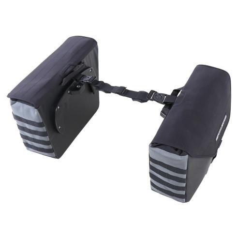 Hepco & Becker Seitenkoffer Set XTRAVEL für C-Bow Seitenträger 2x25 Liter Motorrad Seitentaschen