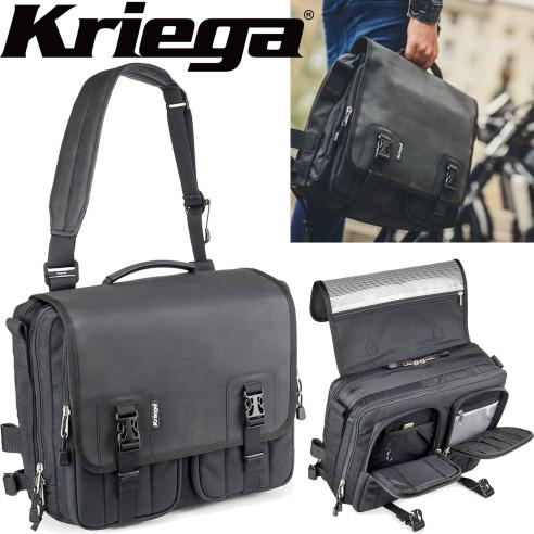 Kriega Umhängetasche URBAN-EDC 18 Liter extrem robuster Messenger Bag mit vielen Fächern