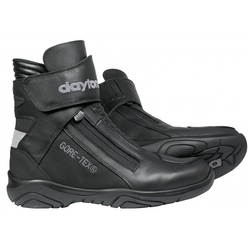 Daytona Gore-Tex Motorradstiefel ARROW SPORT GTX Kurzschaft-Stiefel Leder mit Knöchelschutz