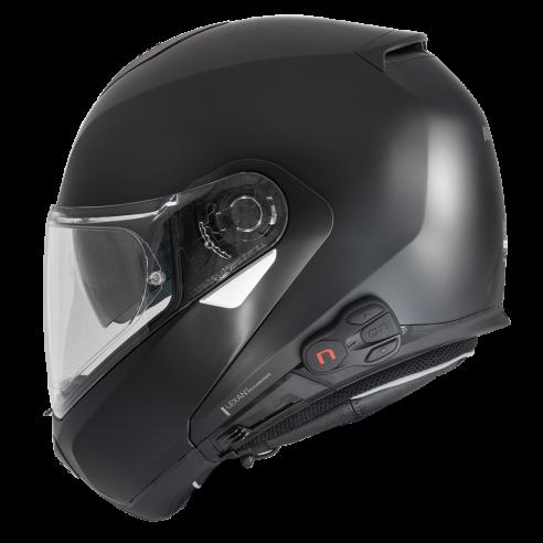 N-COM Headset B902 R für Nolan Motorradhelme N100-5 N90-3 N87 N70-2 N40 N104 N44 mit Radio und Intercom