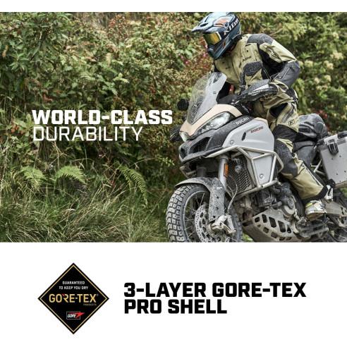 Klim Motorradhose BADLANDS PRO A3 mit Drei-Lagen Gore-Tex Pro Laminat CE AAA