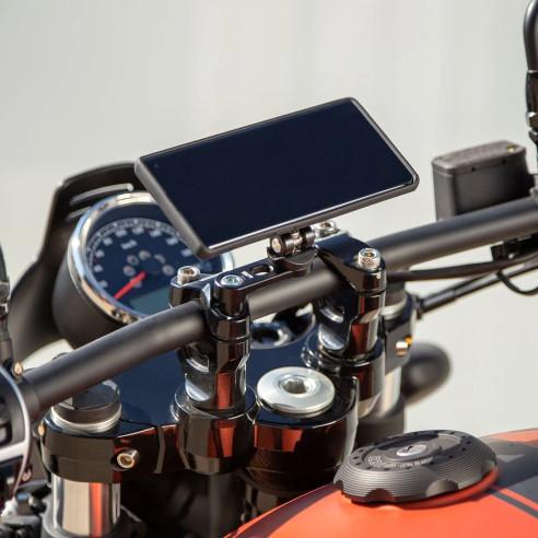 SP Connect Handy Halterung BAR CLAMP MOUNT PRO Motorrad-Lenkerklemmenhalterung Smartphones