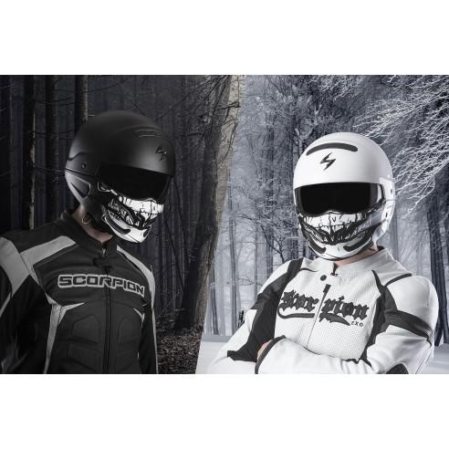 Scorpion Kinnteil SKULL Maske für Helm Exo-Combat EVO / Exo-Combat alle Farben Dekore